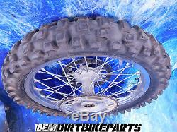 Yamaha Complete REAR Wheel Hub Rim KIT Yz125 wr450 yz125 Yz250f Yz450 19 OEM