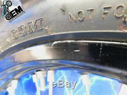 Yamaha Complete Rear Black Excel Wheel Hub Rim tire OEM Assembly 19x2.15