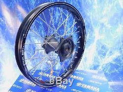 Yamaha Complete Rear Wheel Excel Black Rim OEM A60 Billet Hub Assembly 125-450
