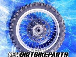 Yamaha Excel REAR Wheel Hub Rim Yz125 wr450 yz125 Yz250 Yz450 19 Silver Complete