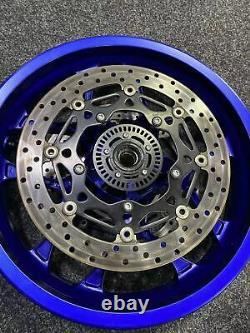 Yamaha R1 2015-2020 genuine complete wheels