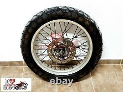 Yamaha Tw Tw200 Trailway Used Genuine Front Wheel Rim Complete Disc Brake