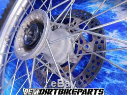 Yamaha Wr250f Excel Complete Front Wheel Hub Rim tire wr450f 21 inch