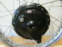 Yamaha Xt500. 1976 Wheels. Completely Refurbished. Takasago Rims And 1e6 Hubs