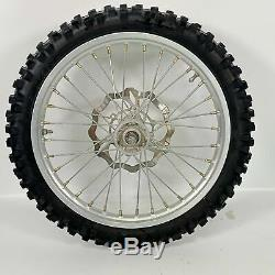 Yamaha YZ85 YZ 85 Complete Front Rear Wheels Rims with Tires Rotors Sprocket