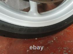 Yamaha Yzf R1 5vy 4c8 2007 2008 Complete Front Wheel Tyre Rim Discs 05 06 07 08