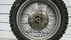 Yamaha xt 125 r 2005 rear wheel 18 complete 140/80-18