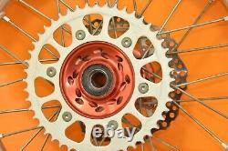 00-01 2000 Cr250 Cr 250 Roues Arrière Avant Ensemble De Roues Complete Wheel Set Hub Rim Assembly B