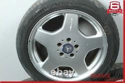 00-02 Mercedes W220 S500 Cl55 Amg Sport Ensemble Complet Roue De Pneu Rim De 4 Pc Oem