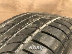 01 2006 Bmw E46 330i 325i Style 68 Double Spoke M-sport Front Wheel Rim Tire Oem