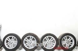 02-05 Mercedes W203 C230 Roue Complète Des Pneus R16 De Jantes 7j X 16h2 Oem