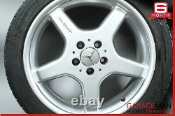 03-08 Mercedes R230 Sl500 Amg Complete Staggered Side Wheel Rim Set 8.5x9.5
