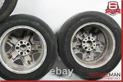 03-09 Mercedes W211 E320 Jante Complète De Pneus De 4 Pc 8jx16h2 Et36 Oem
