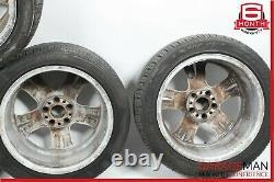 03-09 Mercedes W211 E350 E550 Jeu Complet De Jantes De Pneus R17 8jx17h2 Et38 Oem