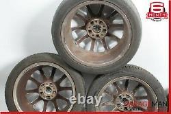 05-08 Mercedes R171 Slk350 Complete Wheel Tire Rim Set Décalé 7.5x8.5 R17 Oem