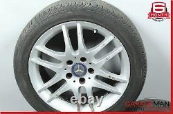 05-11 Mercedes R171 Slk350 Clk350 Complete Wheel Tire Rim Ensemble De 4 Pc R17 Oem