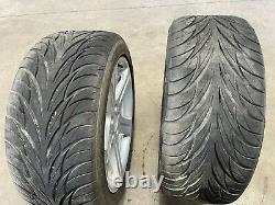 06 07 Mercedes Cls500 Cls550 Jante Roue Complète Withtire Décalé 18'' Lot492 Oem
