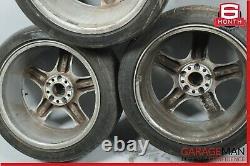 06-11 Mercedes W219 Cls500 Complete Wheel Tire Rim Ensemble De 4 Pc Oem