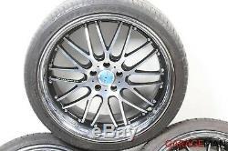 06-11 Mercedes W219 Cls550 Sl550 Complète Avant Et Arrière Roue De Jantes Des Pneus R20