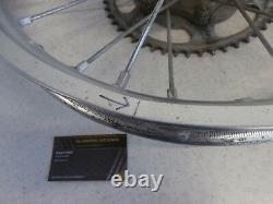 06 Honda Crf250r Crf 250r Véritable Complet Rear Wheel Rim Hub Spoke Disc Set 19