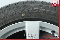 07-09 Mercedes W211 E350 Complète Côté Roue Avant Et Pneus Arrière De Jantes R17 Oem