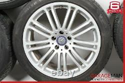 07-09 Mercedes W221 S550 Cl550 Ensemble Complet De Jantes De Pneus Décalés 9,5x8.5 R19