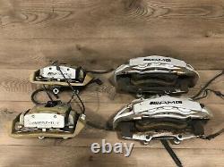 07-2013 Mercedes W221 W216 Amg S63 Cl63 Brembo Brake Caliper Calipers Set Oem