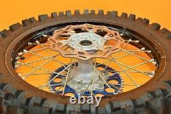 09-13 2010 Yz450f Yz 450f Roues Arrière Avant Ensemble Complet Hub Rim Tire Assemblage A
