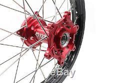 1.621 & 2.1519 Jante De Roue Cnc Complète Pour Honda Cr125r Cr250r Crf250r Crf450r