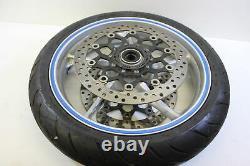 10-13 Honda Vfr1200f Jante Avant Complète Avec Rotors Straight Oem