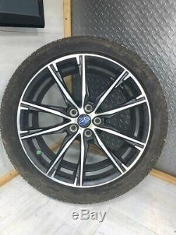 13-17 Subaru Brz Oem Roues Jantes Pneus Ensemble Complet Michelin Complet 0724 10k Miles