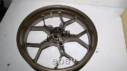 17 Complete Front Wheel Rim Gold/bronze Color Fits Honda Cbr600rr 2013-2017