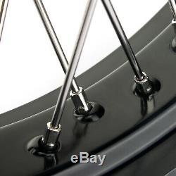 17 Support De Disque De Disque De Moyeu De Roue Complet 125-525 MXC Sxf Exc Supermoto