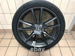 18 Pretoria Alliage Complet Roue Matt Dark Graphite Tyre Inclus