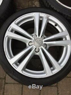 18 Véritable Audi A3 Jantes En Alliage 10 Jantes Spoke X 4. Complet Avec Pneus 225/40