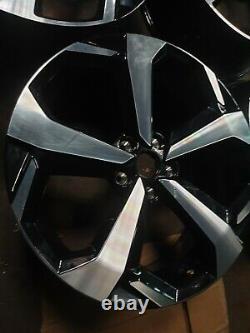 19 Nissan Qashqai Jantes En Alliage Roues D'origine Nissan Complète Avec Tpm Capteurs