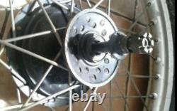 1978 Yamaha Yz400e Complete Front Wheel Rim Hub Drum Spindle Spaces Yamaha Yz400e Complete Front Wheel Rim Drum Spindle Spaces Yamaha Yz400e Complete Front Wheel Rim Drum Spindle Spaces Yamaha Yz400e Complete Front Wheel Rim Drum Spindle