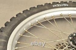 1984 1985 Honda Xr250 Xr250r Xr 250 Complete Front Wheel Rim Hub Very Nice