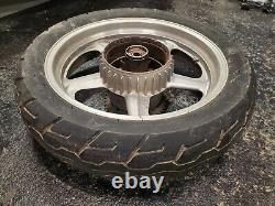 1991 Honda Cb750 Nighthawk Original Complete Roar Wheel Hub Jante Enkei 17 Cb 750