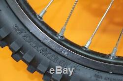1999 96-07 Cr80r Cr85r Hub Pro Roue Avant Complète Rim Spokes Tire 17x1.40