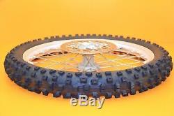1999 99-01 Yz250 Yz125 Avant Roue Arrière Ensemble Complet Hub Rim Spokes Tire Rotor