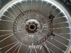 2004 04-06 Rmz250 04-05 Kx250f Set Avant Arrière Excel Wheel Hub Jante Rotor Complète