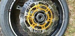2006-2007 Suzuki Gsxr 600 K6 K7 Kit Complet De Roues Jantes Disques De Frein Gsxr 750