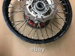 2011 11 Husqvarna Te250 Complete Rear Excel Wheel Rim Black Oem 125-530 Ktm