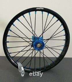 2014-2020 Husqvarna Tc 85 Motocross Wheels Rims Black Blue Complete 16/19