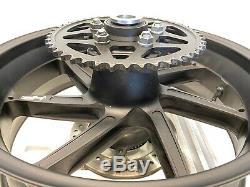 2016 Bmw S1000rr Haut De Gamme Oem HP Forged Complète Jante De Roue Arrière Rotor 2015-2018