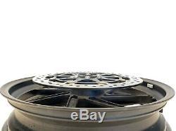 2016 Bmw S1000rr Haut De Gamme Oem HP Forged Rim Roue Avant Complète Rotors 2015-2018