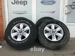 2018-2019 Rims/roues Ford F-150 Oem Avec Pneumatiques R17 (complet/séparé)