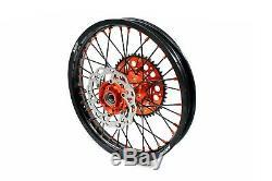 21 18 Kke Complet Rim Roue Set Ktm 125 Sx Xcw Exe 250 350 530 2003-2020