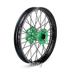 21'' 19'' Wheels Complete Set For Kawasaki Kx 125 250 06-13 Kx250f Kx450f 06-18
